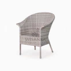 Subang Patio Rattan Outdoor Arm Chair perspective