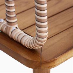 Anjani Terrace Table - Outdoor Rattan Patio Furniture detail 2