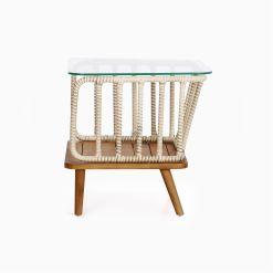 Anjani Terrace Table - Outdoor Rattan Patio Furniture side
