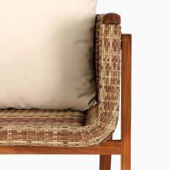 Arka Terrace Chair - Outdoor Rattan Patio Furniture detail 1