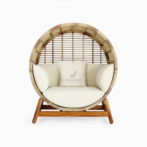 Orza Daybed - Outdoor Rattan Patio Furniture front