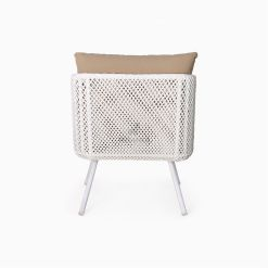 Clarendon Arm Chair - Outdoor Rattan Patio Furniture rear