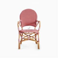 Clementine bistro chair - Rattan Garden Furniture front