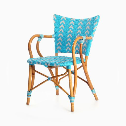 Fae Bistro Chair - Outdoor Rattan Patio Furniture perspective