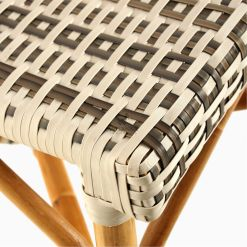 Hannah Bistro Chair - Outdoor Rattan Patio Furniture detail 2
