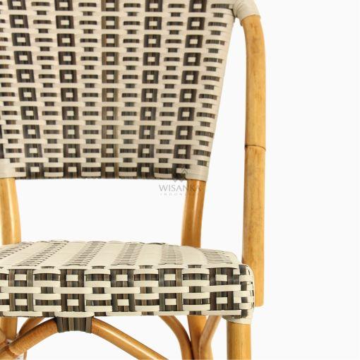 Hannah Bistro Chair - Outdoor Rattan Patio Furniture detail