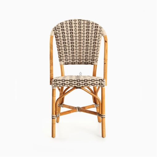 Hannah Bistro Chair - Outdoor Rattan Patio Furniture front