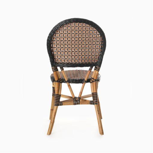 Oka Bistro Chair - Outdoor Rattan Patio Furniture rear