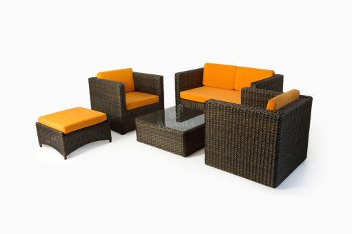 Tanzania Living Set - Outdoor Rattan Patio Furniture