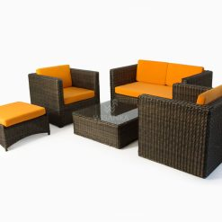 Tanzania Living Set - Outdoor Rattan Patio Furniture