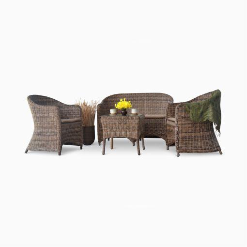 Molde Living Set - Outdoor Garden Rattan Furniture