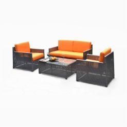 Shikoku Living Set - cube garden furniture set for sale