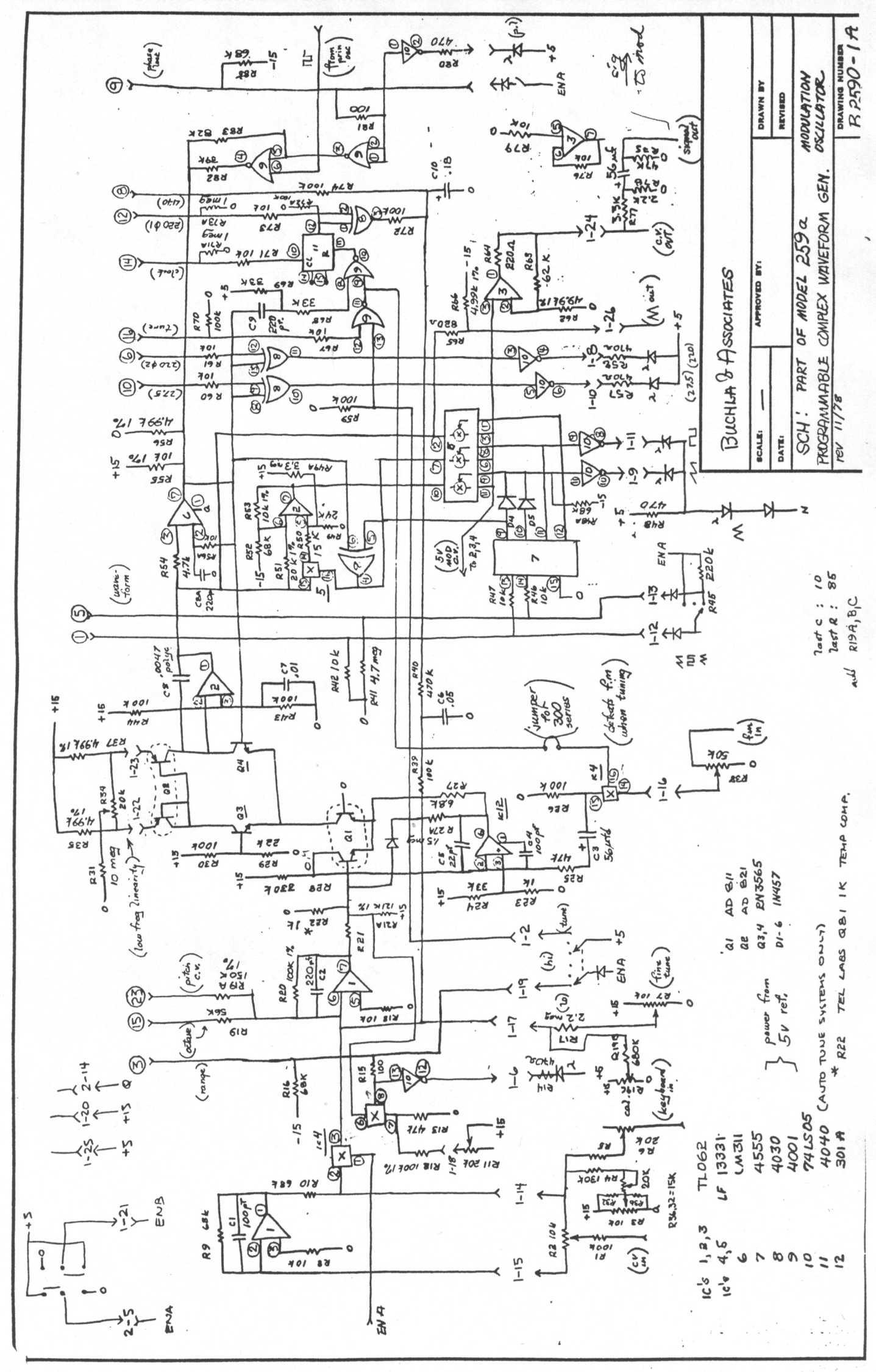 Synthfool Docs Buchla 200 259a