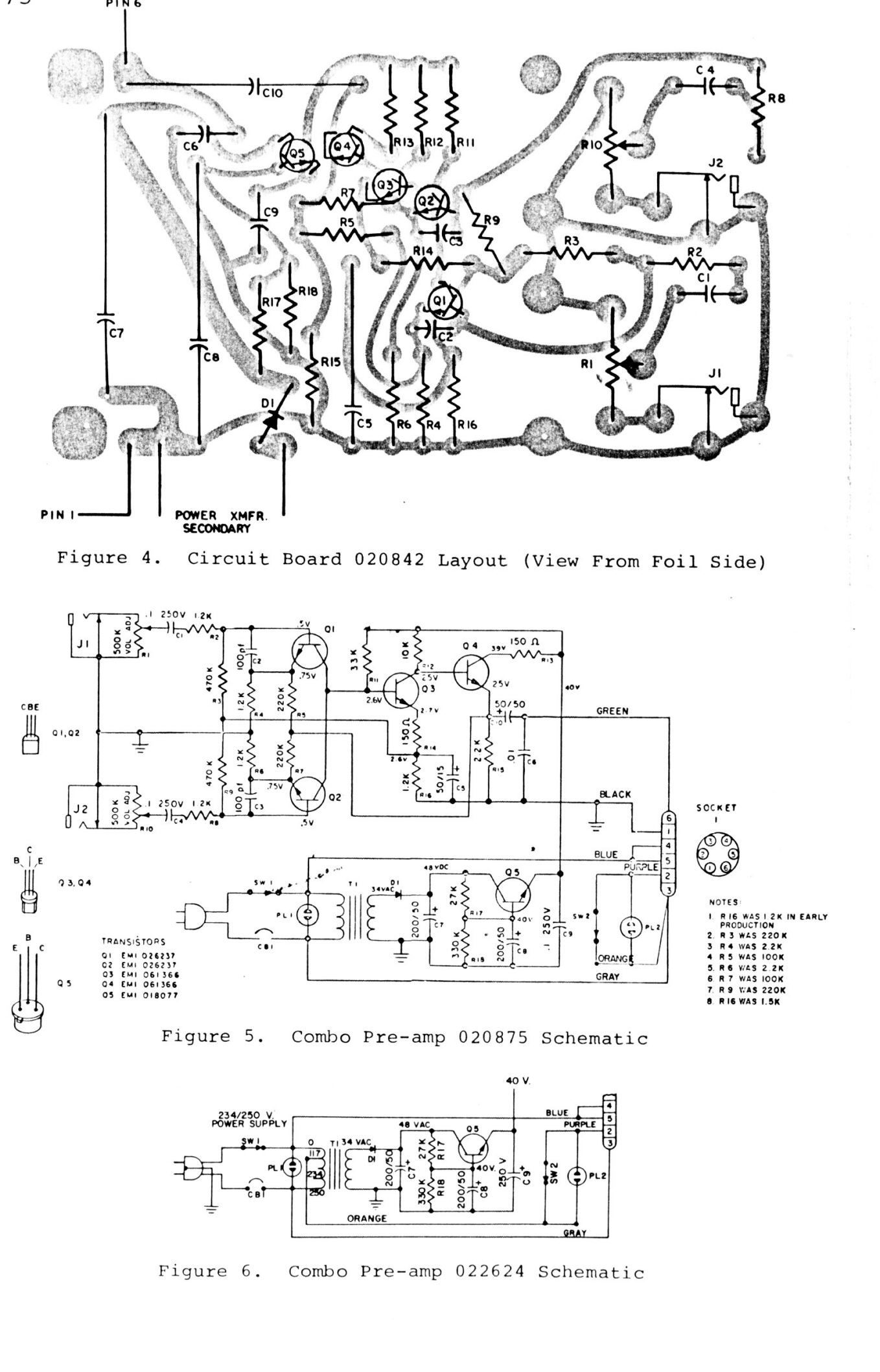 Synthfool Docs Leslie Leslie Combo Preamp Service Manual