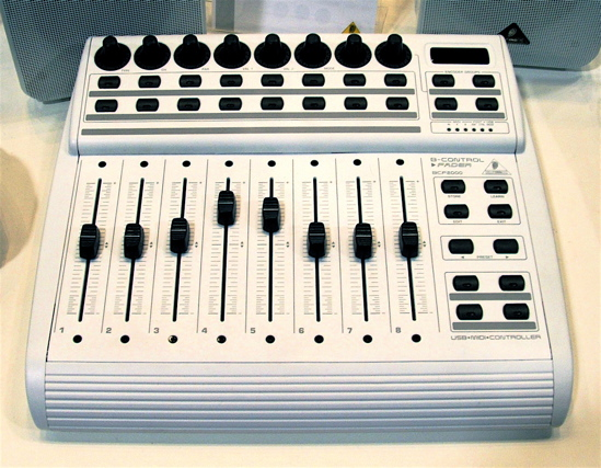 Behringer white B-control for Apple