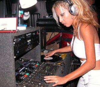DJ Tribe Spinning