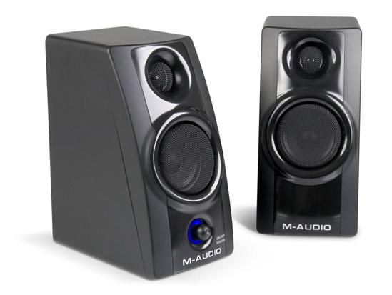 M-Audio speakers