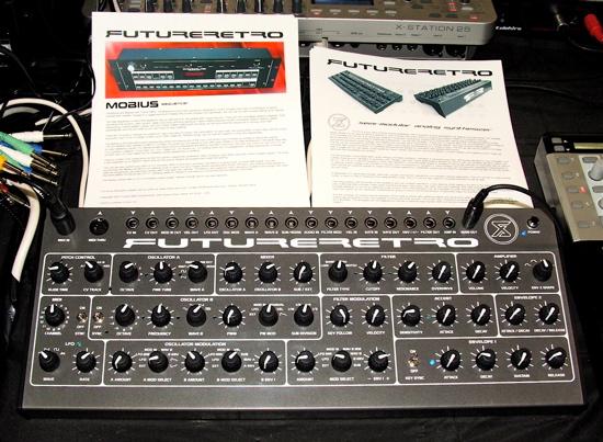 Modular synthesizer Future Retro