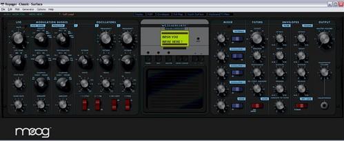 Moog Voyager Interface