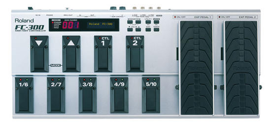 Roland FC 300 MIDI foot controller