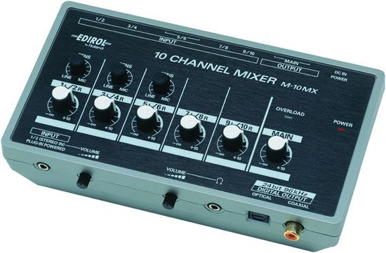 Edirol Channel Mixer