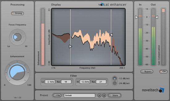 Noveltech vocal processor powercore