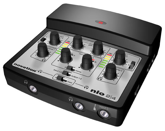 Novation Introduces nio 2 | 4 Mobile Audio Interface