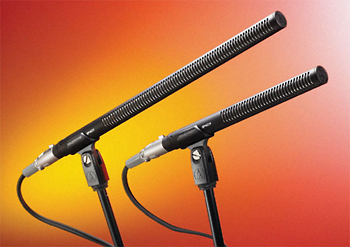 Audio-Technica Debuts Two New Stereo Shotgun Microphones