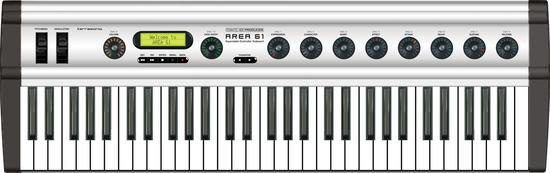 TerraTec Producer's AREA 61 Expandable MIDI Controller Keyboard