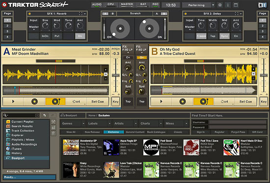 Native Instruments Traktor Scratch Now In Stores