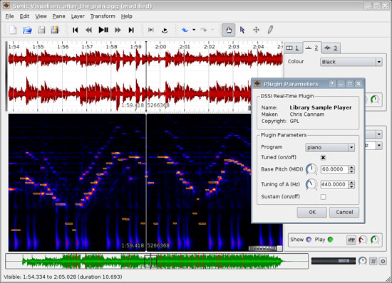 Sonic Visualiser Audio Analysis Tool Version 1.0 Released