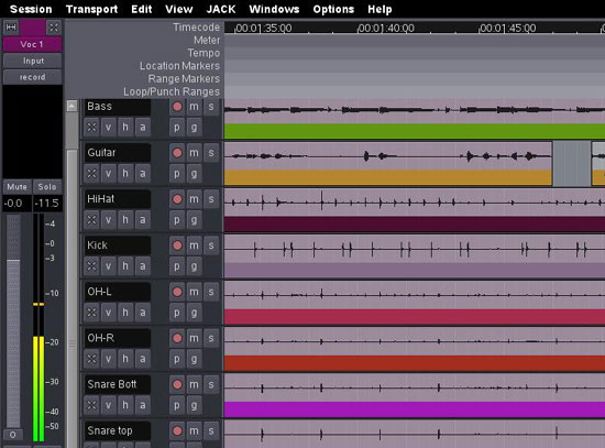 Ardour Open-Source DAW Project Gets Sponsor