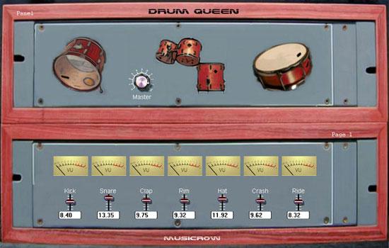 Musicrow Releases Drum Queen VST Instrument