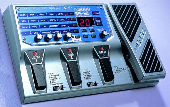 BOSS ME 20 effects pedal