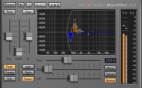 NuGen Audio Updates Monofilter Plug-In To Version 3.2