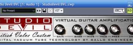 Studio Devil Virtual Vacuum Tube Amp