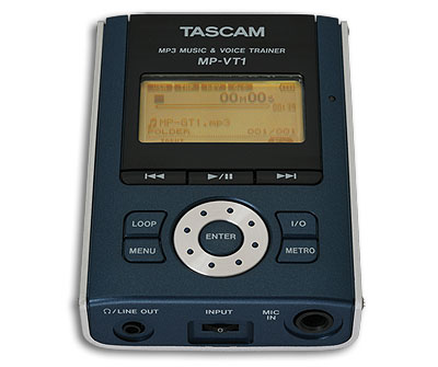 tascam MP3 trainer