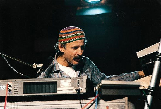 Joe Zawinul with synths