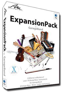 AMG GarageBand ExpansionPack