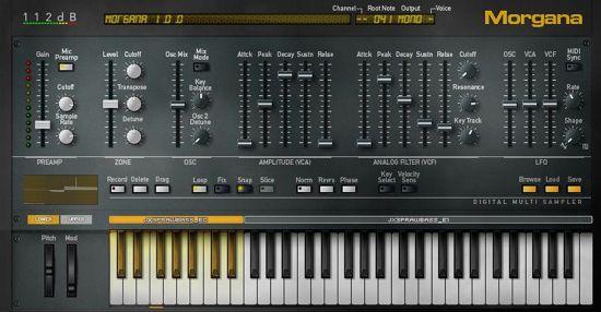 Morgana Synthesizer