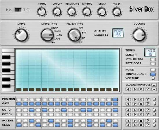 Silverbox virtual tb303