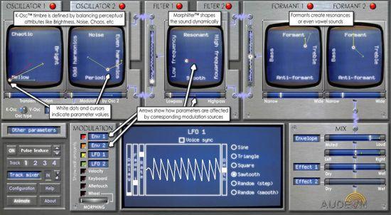 UFO Software Synthesizer