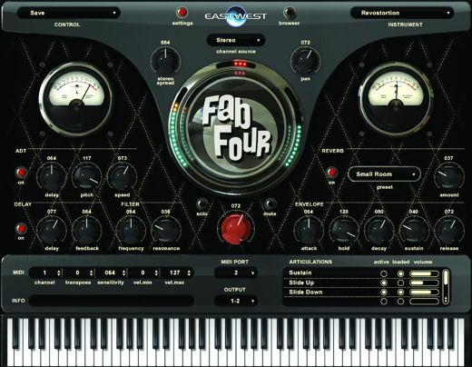 Fab Four Virtual Instruments