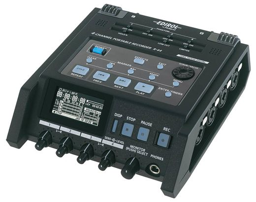 Edirol R-44 4-Channel Portable Recorder