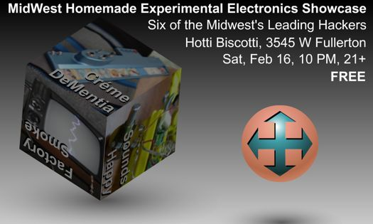MidWest's Homemade Experimental Electronics Showcase