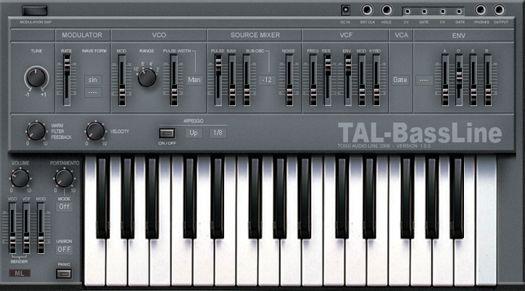 Free Bassline Synth