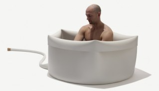 Moby Gets Naked In The Rubber Tub