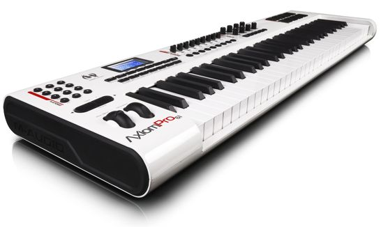 namm show m audio axiom pro control keyboards synthtopia. Black Bedroom Furniture Sets. Home Design Ideas