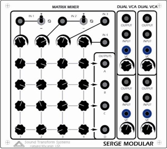 audio-matrix-mixer