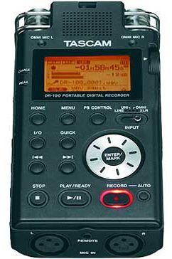 tascam-dr-100-portable-audio-recorder-photo